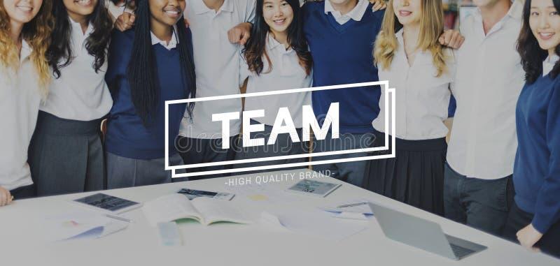 Концепция партнерства сотрудничества единения наличия команды стоковые изображения