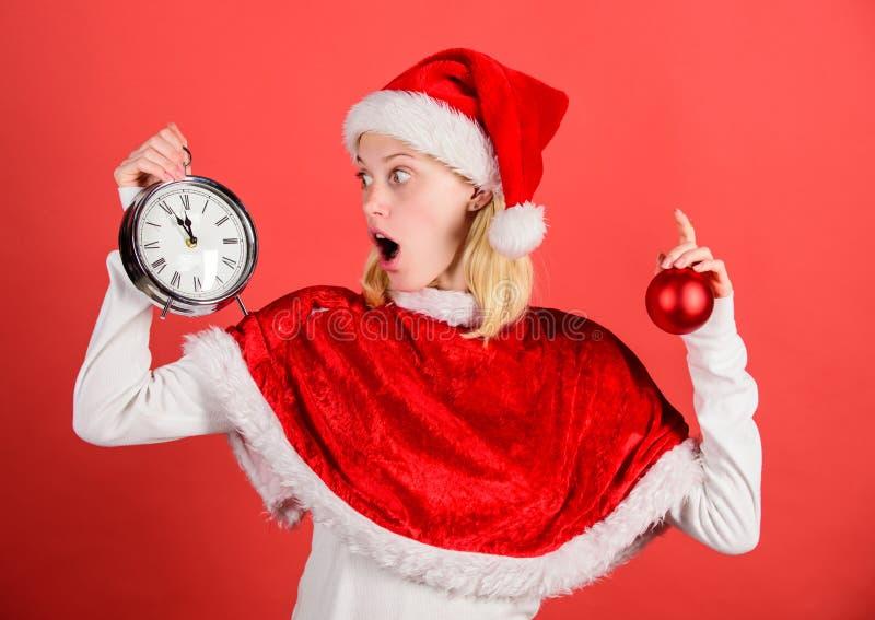 Концепция подготовки рождества Любимое рождество года времени потеха рождества Насладитесь Новым Годом торжества счастливым девуш стоковая фотография rf