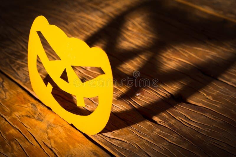 Концепция предпосылки хеллоуина График стороны тыквы Джека o смешной стоковое изображение rf