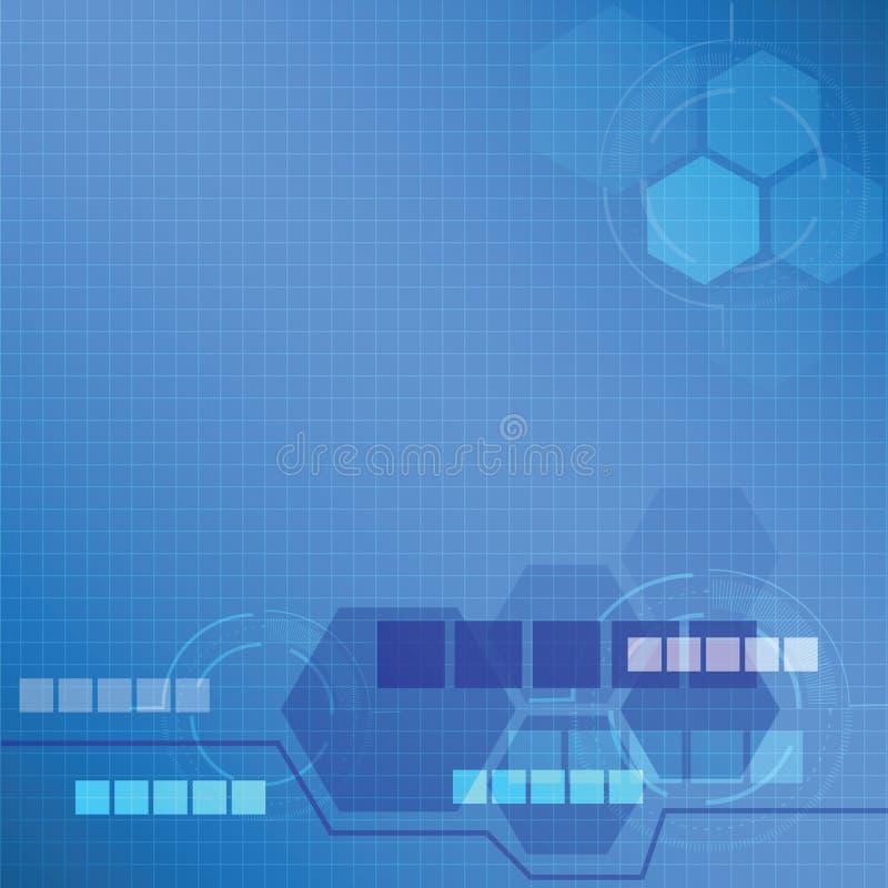 Концепция предпосылки технологии - иллюстрация вектора иллюстрация вектора