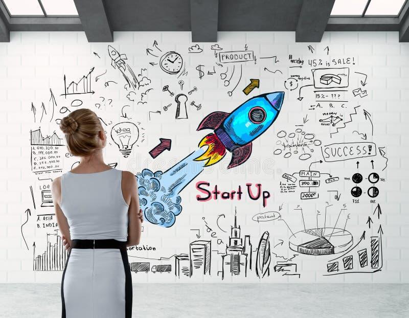 Концепция предпринимательства стоковое изображение rf