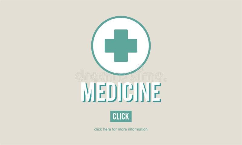 Концепция разлада болезни симптомов диагноза лекарства медицины иллюстрация вектора