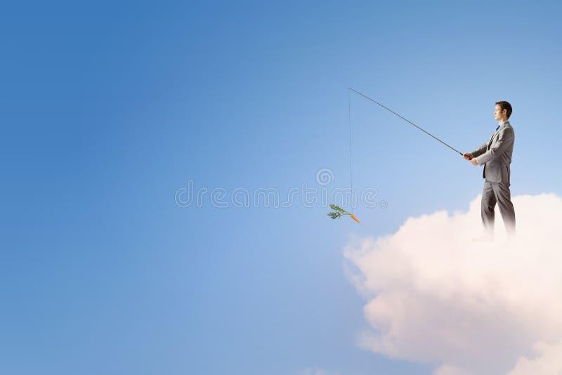 Download Концепция рыбной ловли стоковое фото. изображение насчитывающей деньги - 41650498