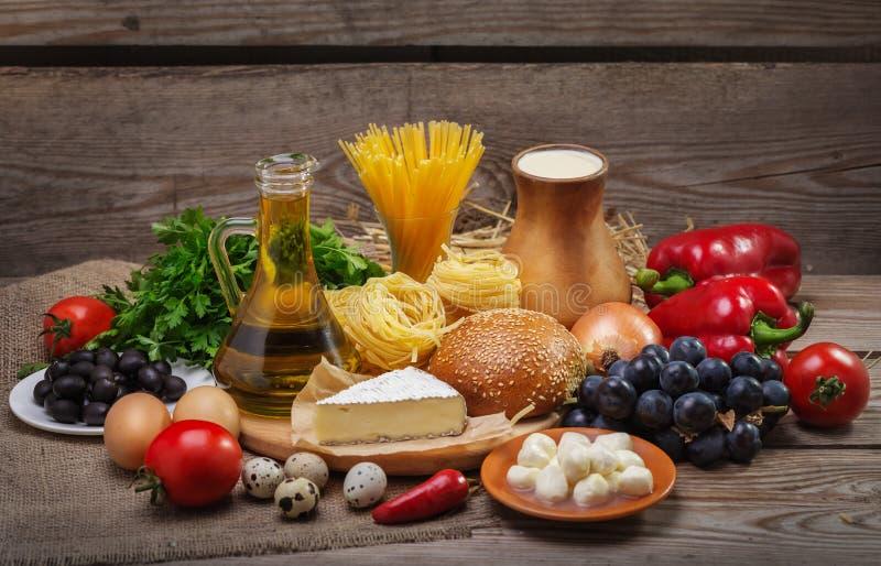 Концепция сбалансированной диеты стоковое фото rf