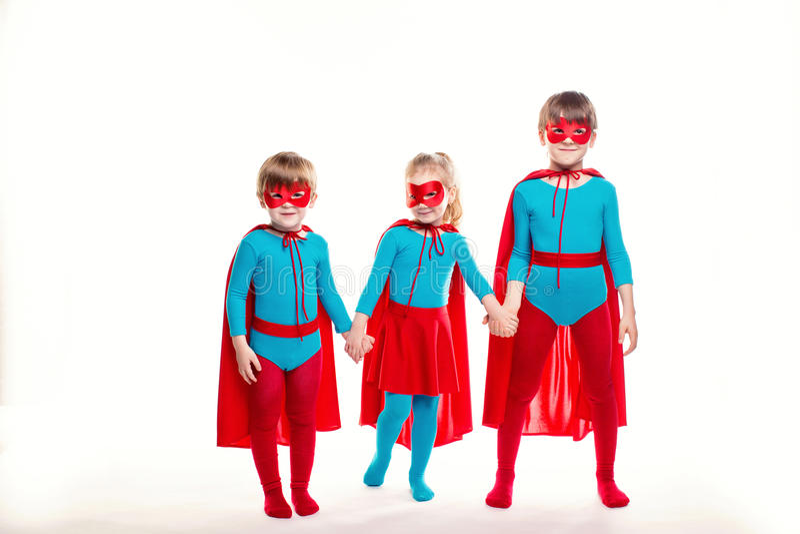 Концепция силы детей стоковое изображение