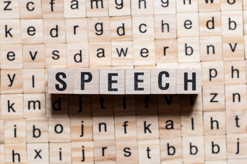 Концепция слова речи стоковые изображения