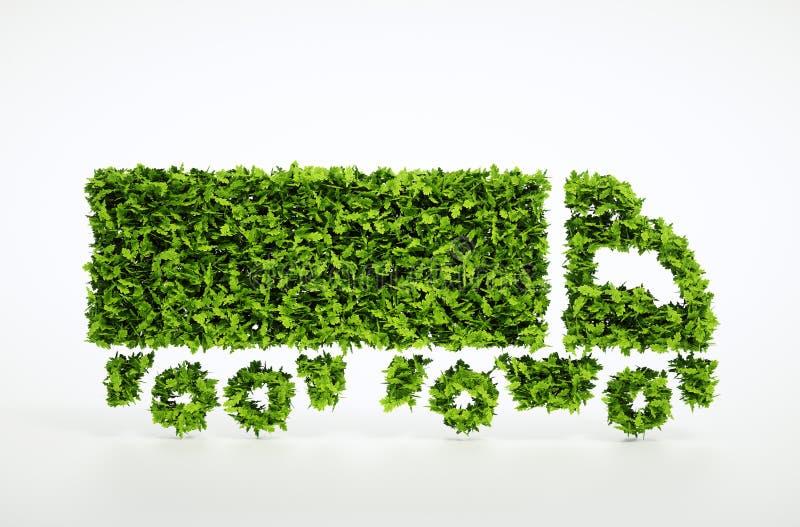 Концепция снабжения экологичности иллюстрация штока