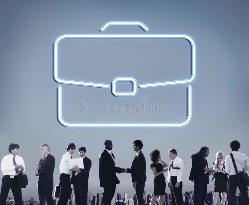Концепция сотрудничества роста портфеля дела конфиденциальная стоковые фото
