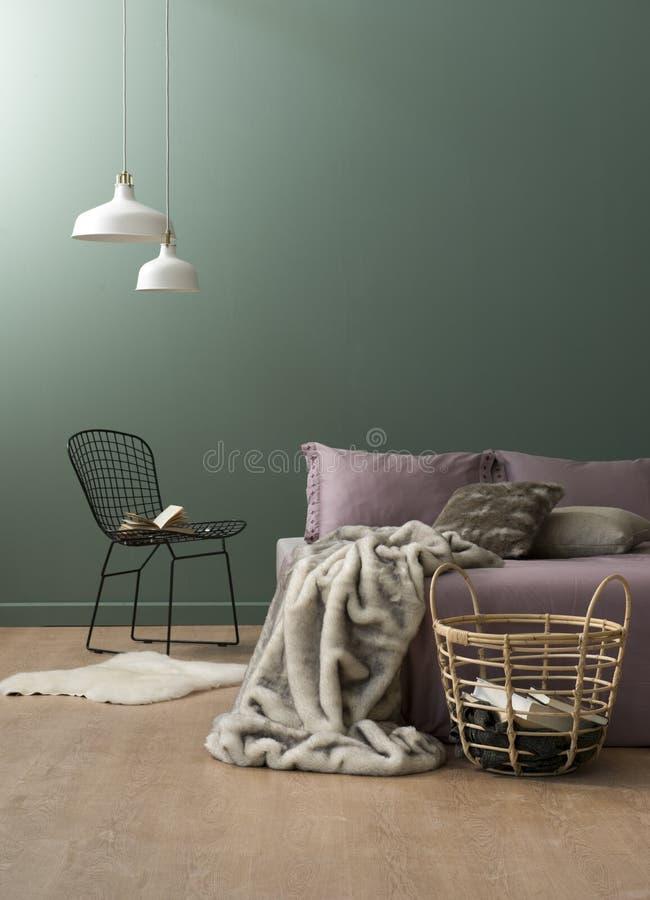 Концепция спальни стоковые фото