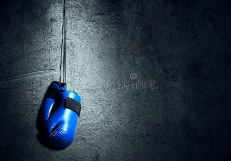 Концепция спорта бокса стоковые фотографии rf