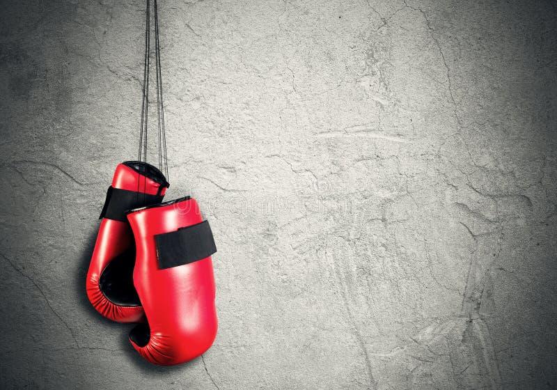 Концепция спорта бокса стоковые изображения