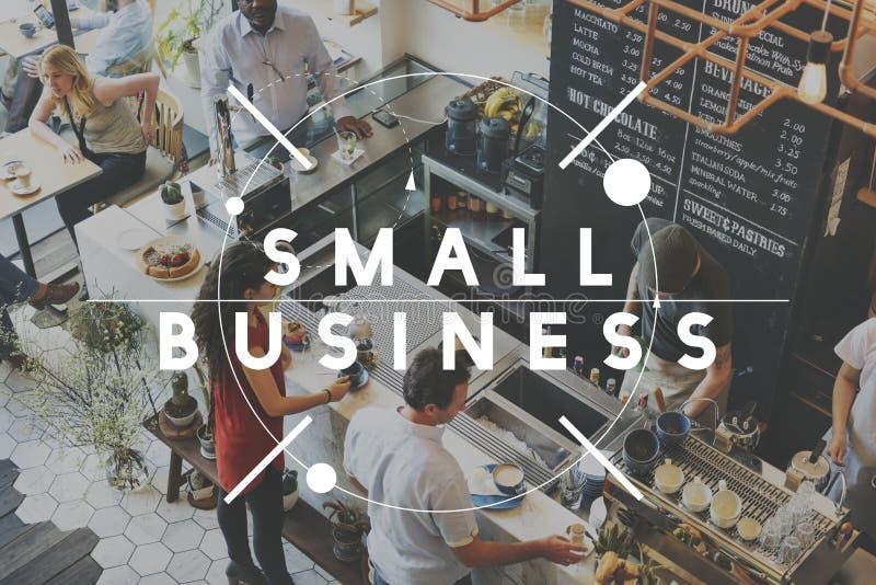 Концепция старта идей развития компании мелкого бизнеса стоковое фото rf