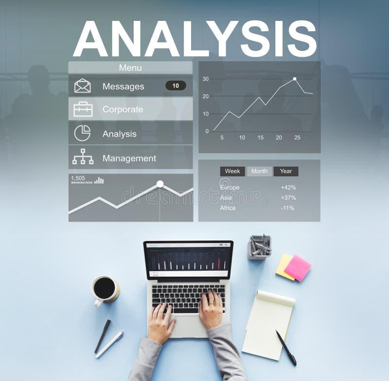 Концепция стратегии анализа рекламы клеймя стоковое фото rf