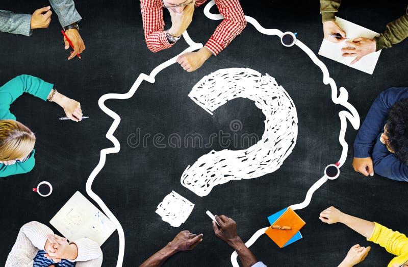 Концепция стратегии встречи проекта планирования команды разнообразия стоковое фото rf