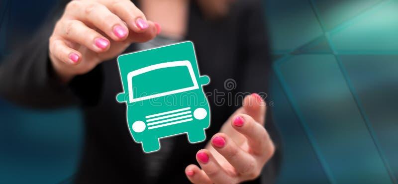 Концепция транспорта стоковое изображение rf