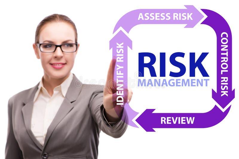 Концепция управления при допущениеи риска в современном деле стоковые фотографии rf