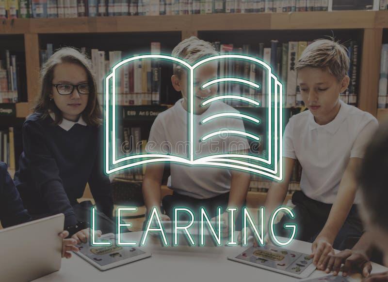 Концепция урока знания образования технологии стоковая фотография rf