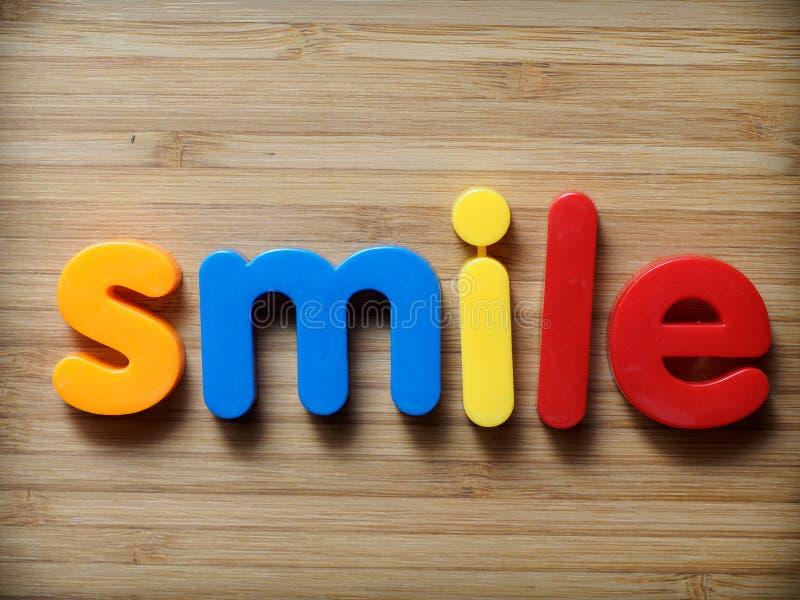 Концепция улыбки стоковые изображения rf