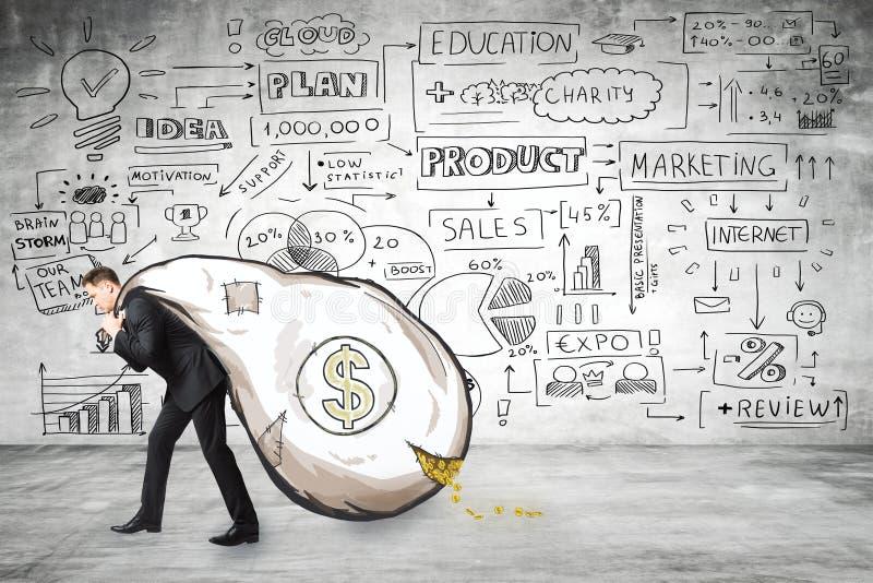 Концепция финансов и богатства стоковые фотографии rf