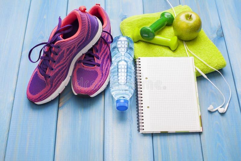 Концепция фитнеса здоровая стоковое изображение