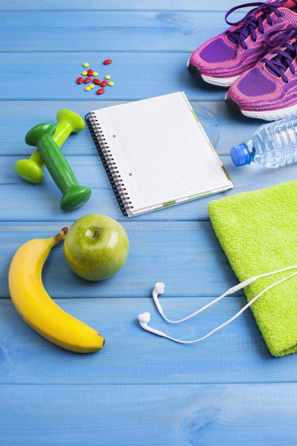 Концепция фитнеса здоровая стоковые фотографии rf