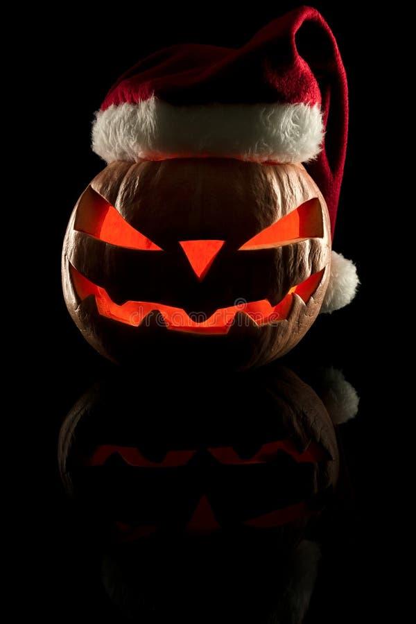 Концепция хеллоуина и Нового Года и рождества Evi стоковое изображение rf