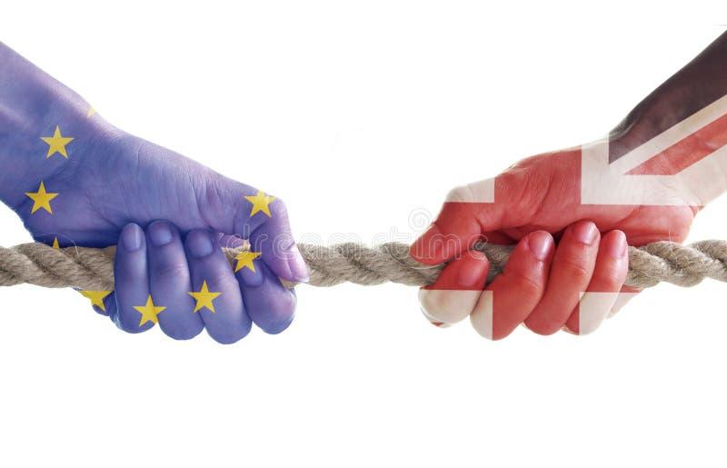 Концепция Brexit стоковое изображение rf