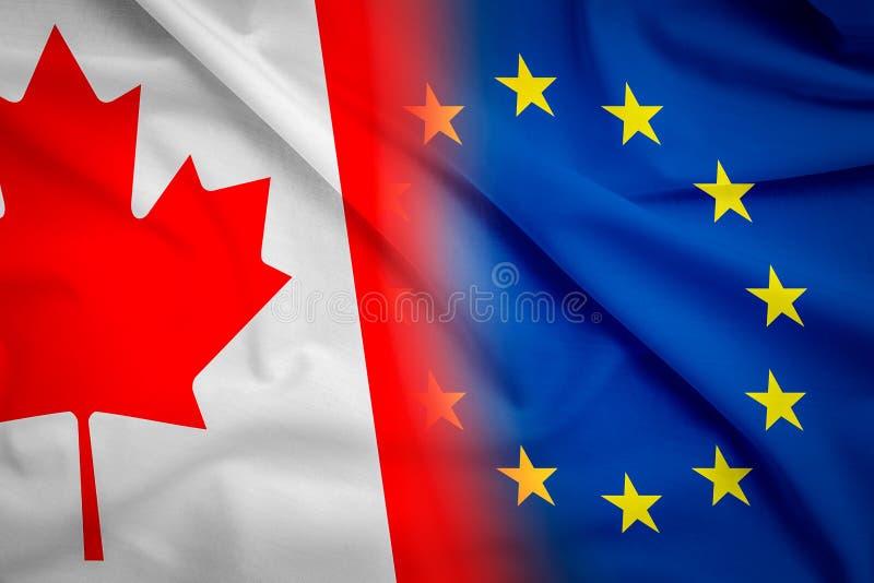Концепция CETA стоковое фото