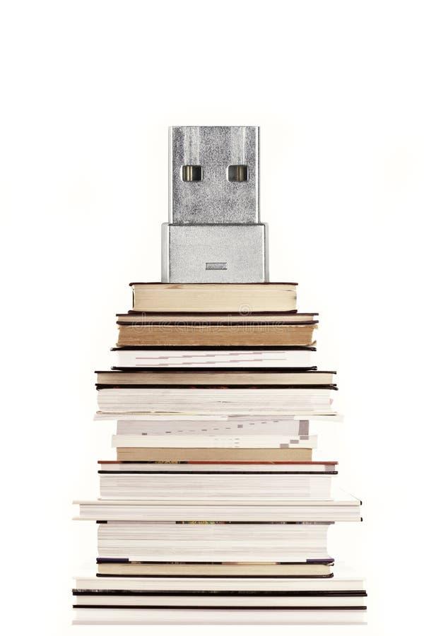 концепция E-чтения и eBook стоковая фотография rf