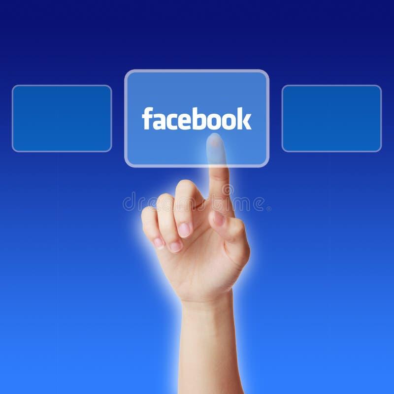 Концепция Facebook стоковые фотографии rf