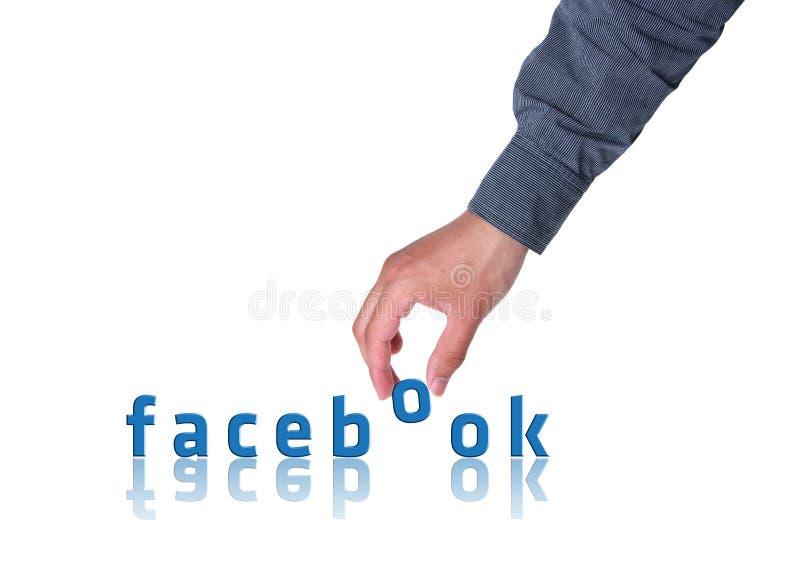 Концепция Facebook стоковые фото