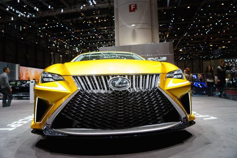 Концепция Lexus LF-C2, мотор-шоу Geneve 2015 стоковые фото