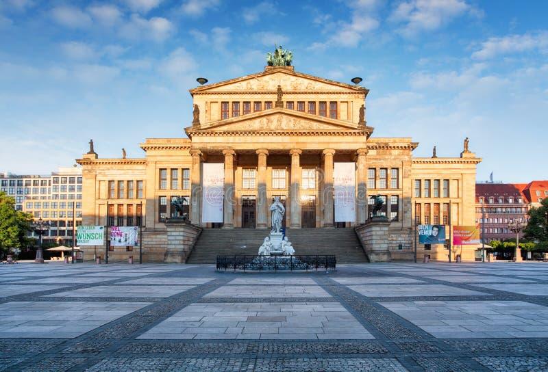 Концертный зал на Gendarmenmarkt, Берлин стоковая фотография