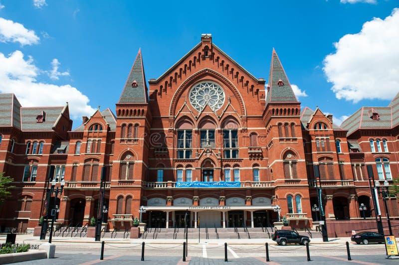 Концертный зал Цинциннати стоковое фото