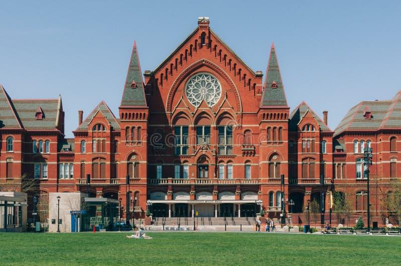 Концертный зал Цинциннати стоковая фотография rf