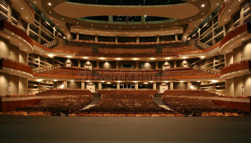 Концертный зал стоковое изображение rf