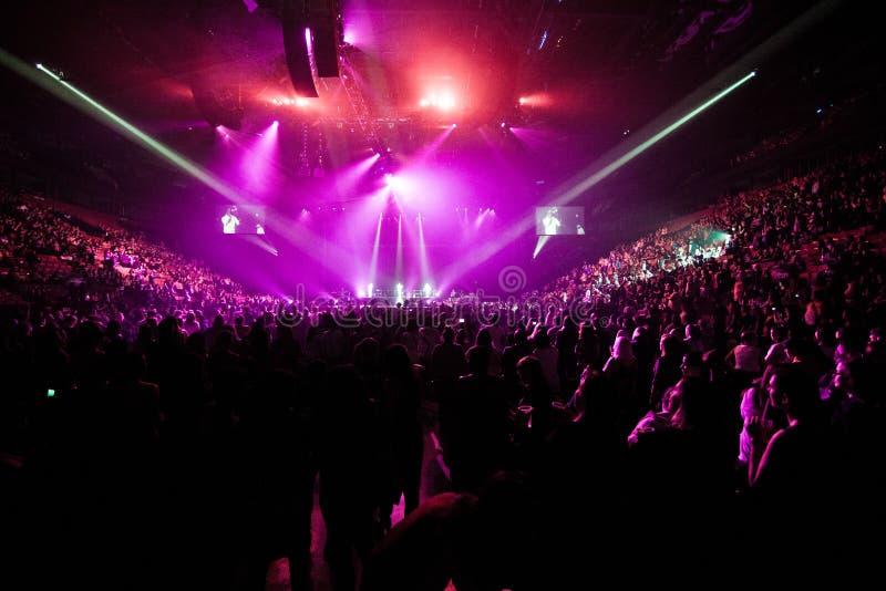 Концерт людей Boyz II в Монреале стоковая фотография