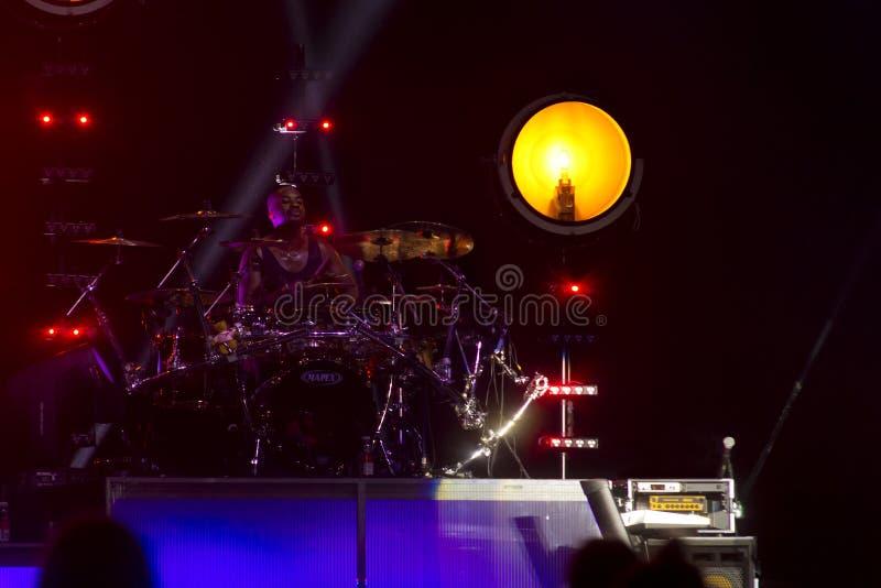 Концерт ` s Джесси j стоковые изображения rf