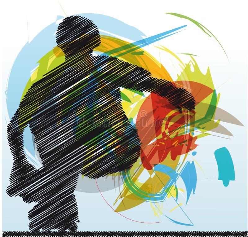 конькобежец иллюстрации бесплатная иллюстрация