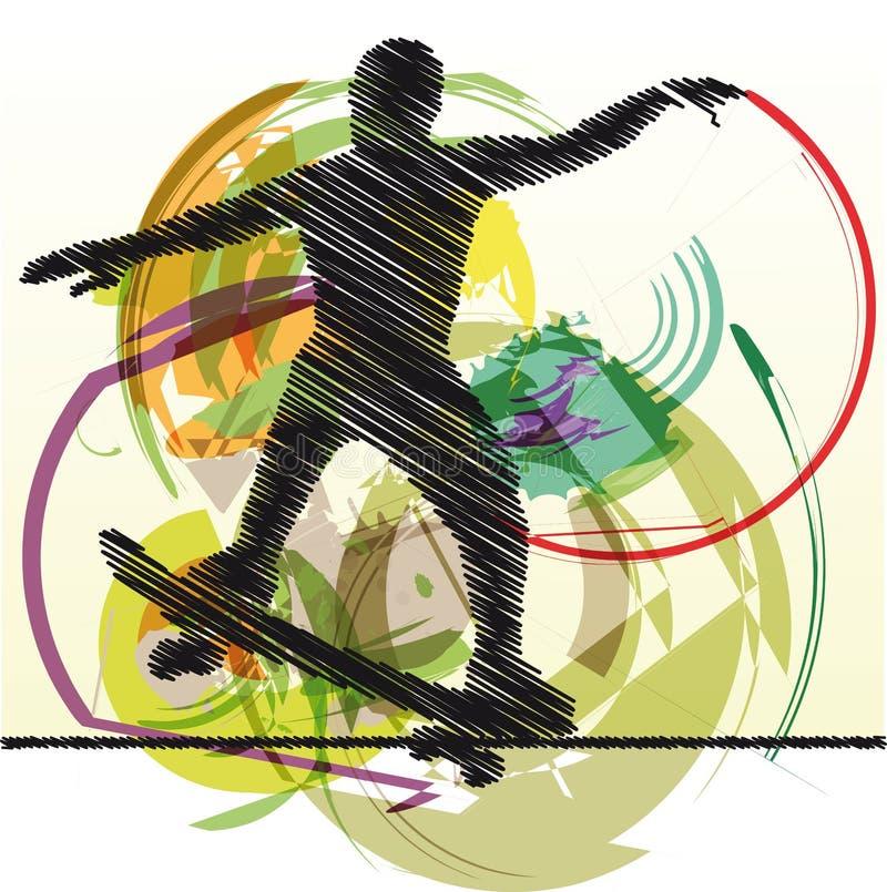 конькобежец иллюстрации иллюстрация вектора