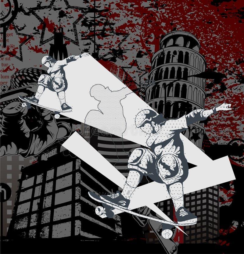 конькобежец предпосылки урбанский бесплатная иллюстрация