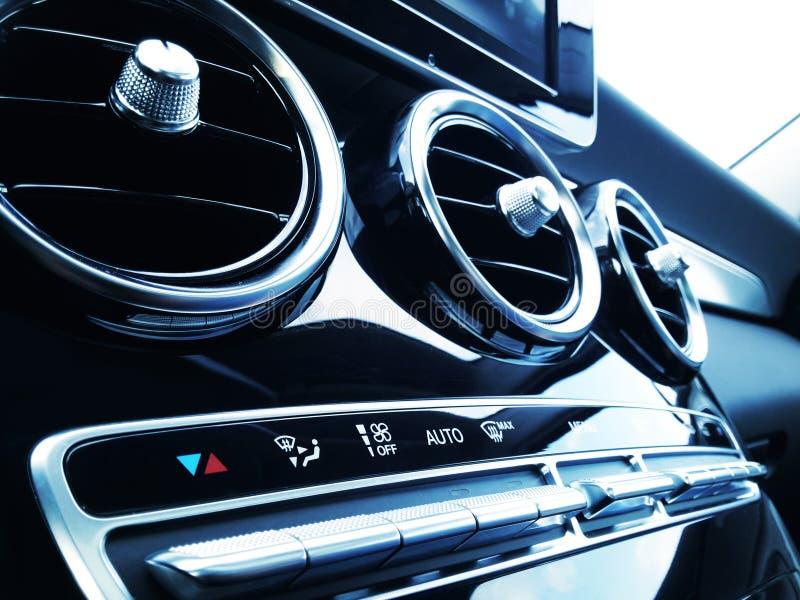 Кондиционер воздуха автомобиля стоковая фотография rf