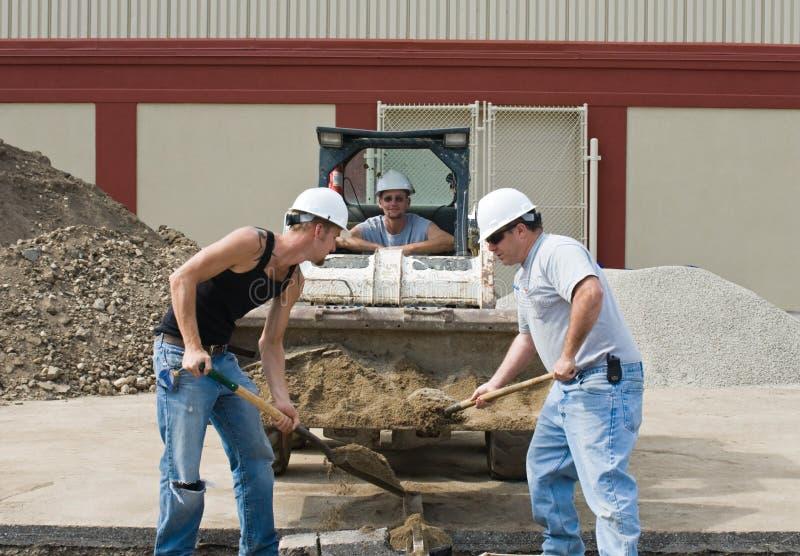 копать песка стоковая фотография rf