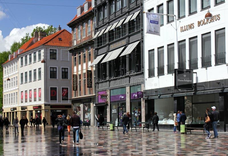 Копенгаген после дождя стоковые фотографии rf