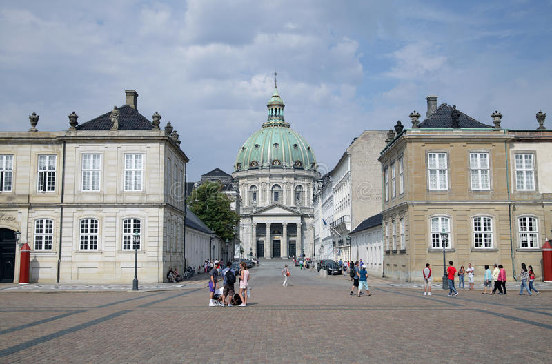 Копенгаген стоковое изображение