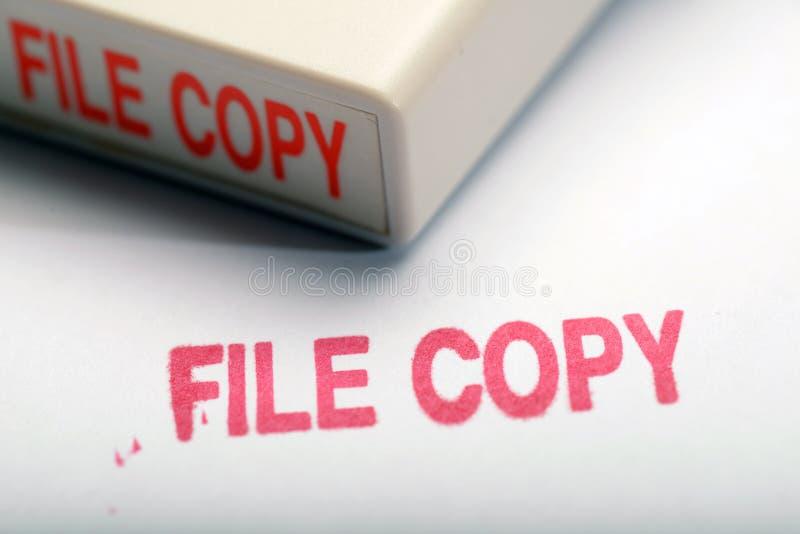 Копия файла 1 стоковое изображение rf