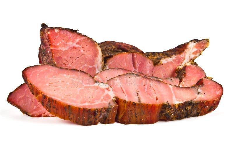 Download Копченое мясо стоковое изображение. изображение насчитывающей деликатес - 37551409
