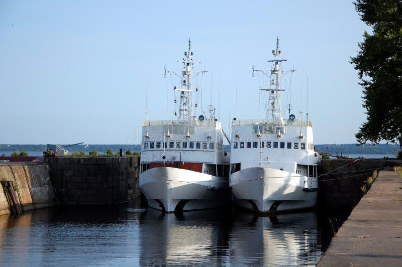 корабли 2 стоковые изображения rf