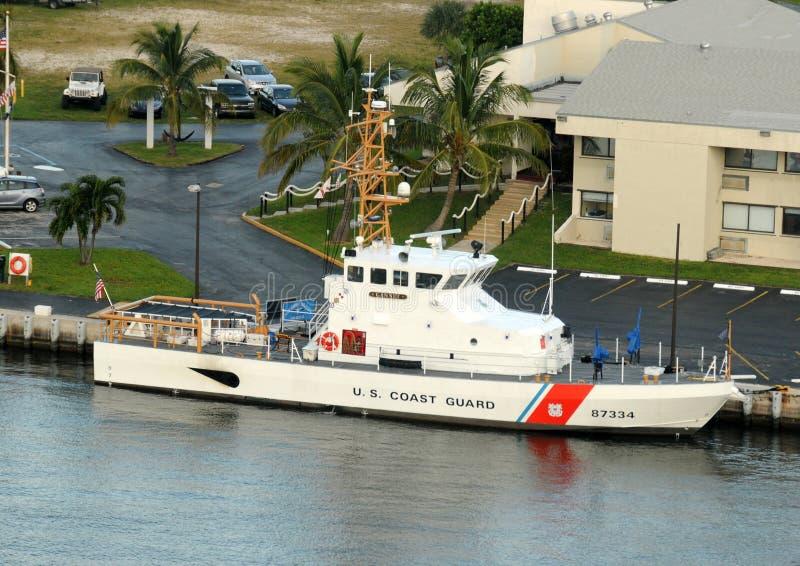 корабль береговой охраны мы стоковое изображение