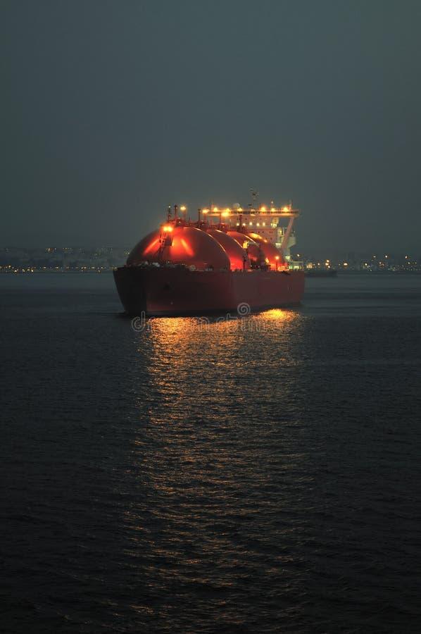 корабль долготы газа несущей естественный стоковое изображение